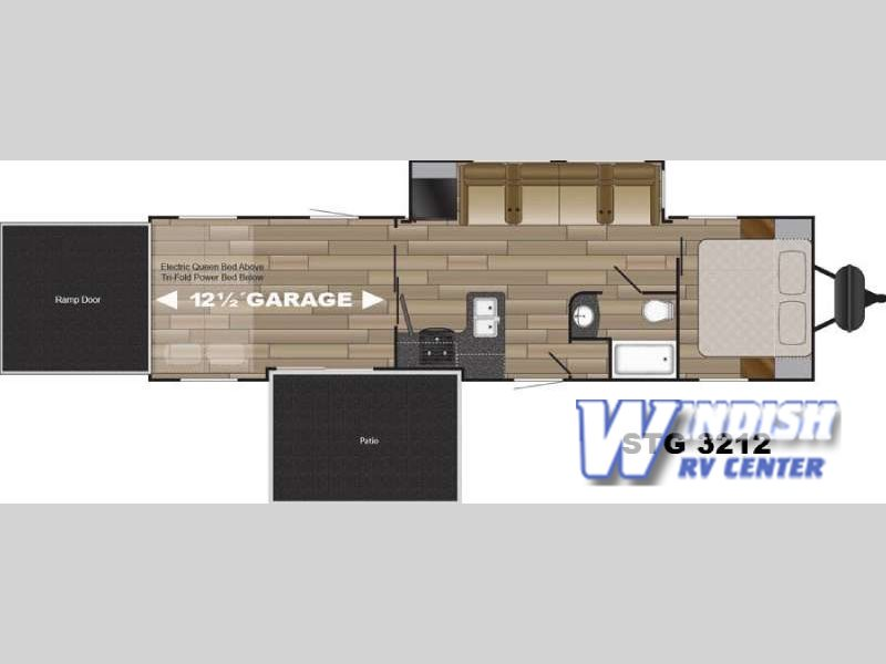 The Cruiser Stryker Toy Hauler Travel Trailer This Is The Real Deal Windish Rv Blog