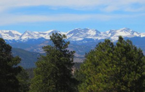 Windish RV Camping in Spring in Colorado