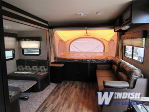 Dutchmen Kodiak Travel Trailer interior