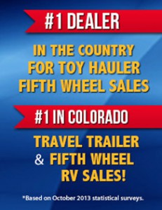 #1 RV Dealer in Colorado