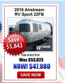 Airstream 22FB on sale Windish RV