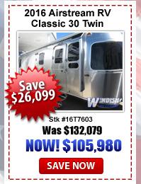 Airstream Classic Twin on Sal