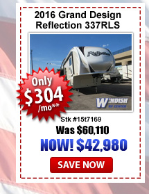 Grand Design Reflection 337 RLS on Sale