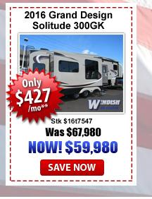 Grand Design Solitude 300GK on sale