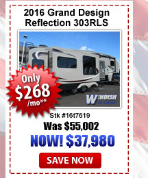 Grand design Reflection Fifth Wheel on sale