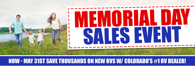 Memorial Day Sale WindishRV