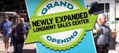 Newly Expanded Longmont Sales Center