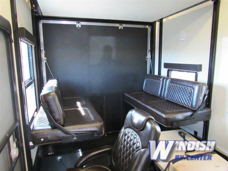 Grand Design Momentum M-Class Fifth Wheel Toy Hauler Garage