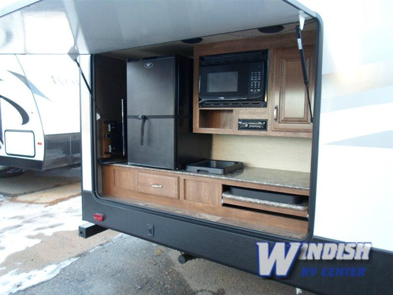 Keystone Laredo Travel Trailer Outdoor Kitchen