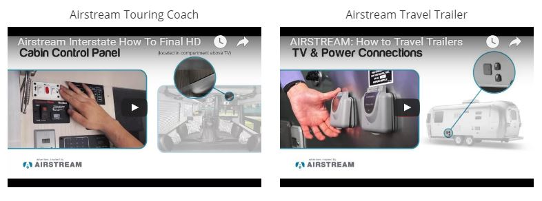 Windish RV Airstream How To Videos