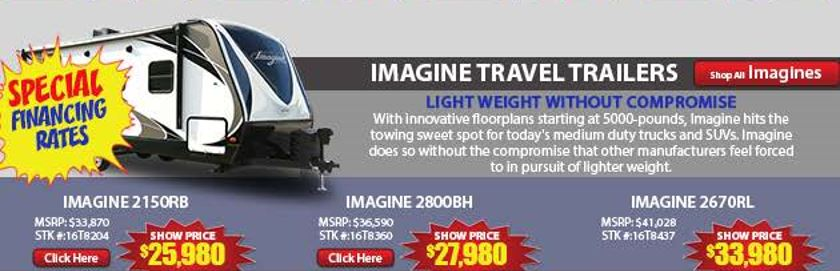 Imagine Show Prices