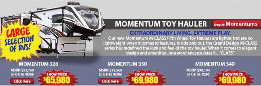 Momentum Show Prices
