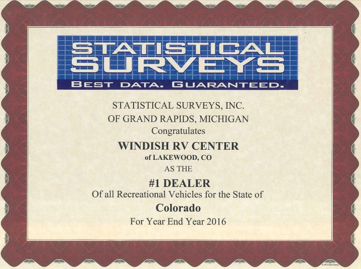 Largest Dealer In Colorado Windish RV
