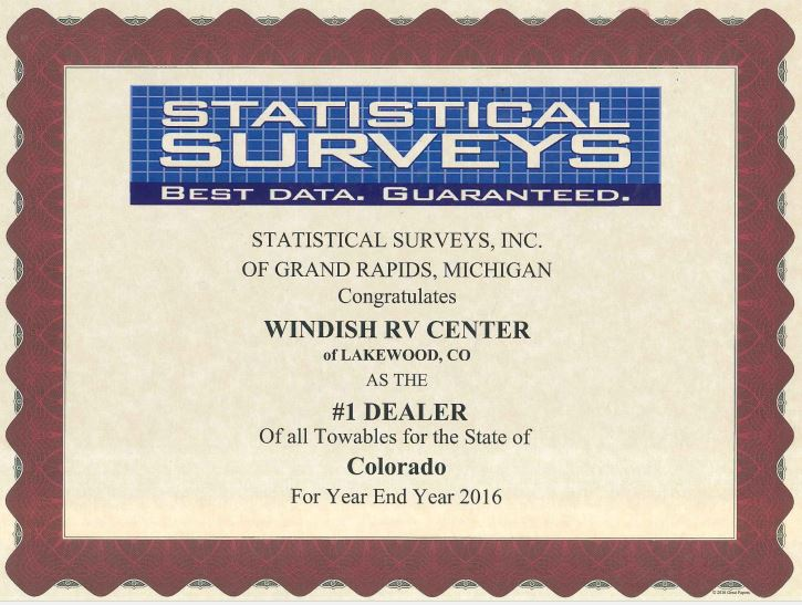 Largest Towable Dealer In Colorado Windish RV