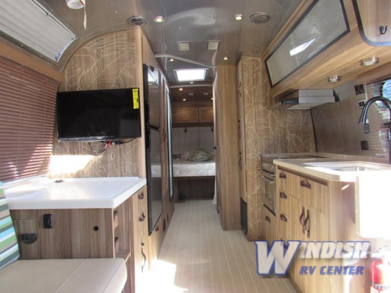 Airstream International Tommy Bahama Travel Trailer Interior