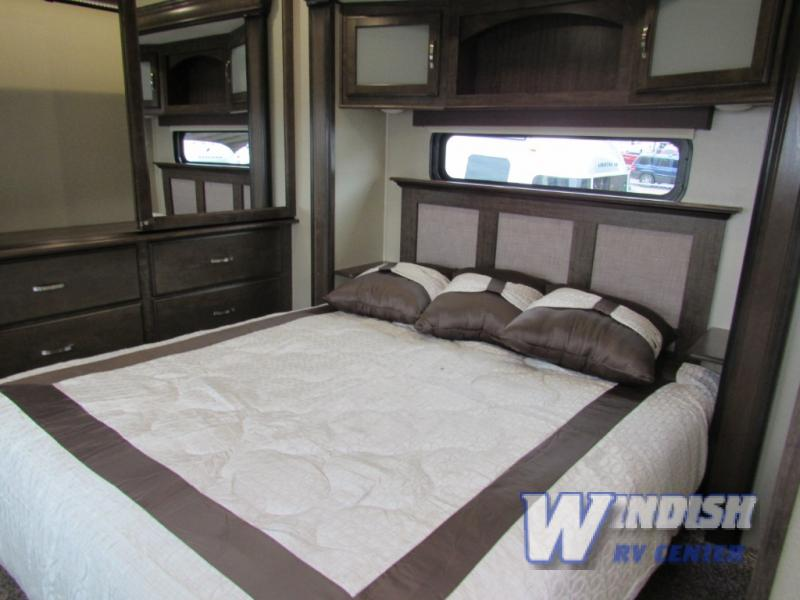 Grand Design Solitude Fifth Wheel Bedrom