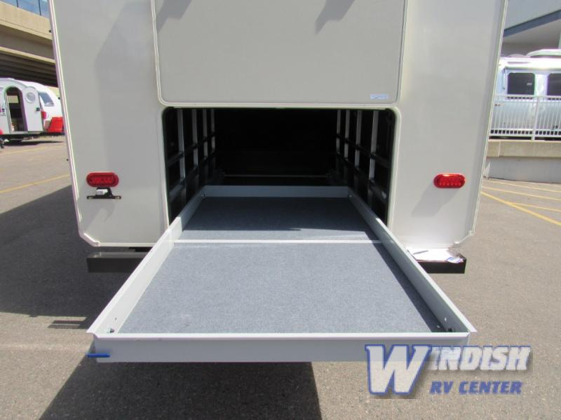 Grand Design Solitude Fifth Wheel Garage Storage
