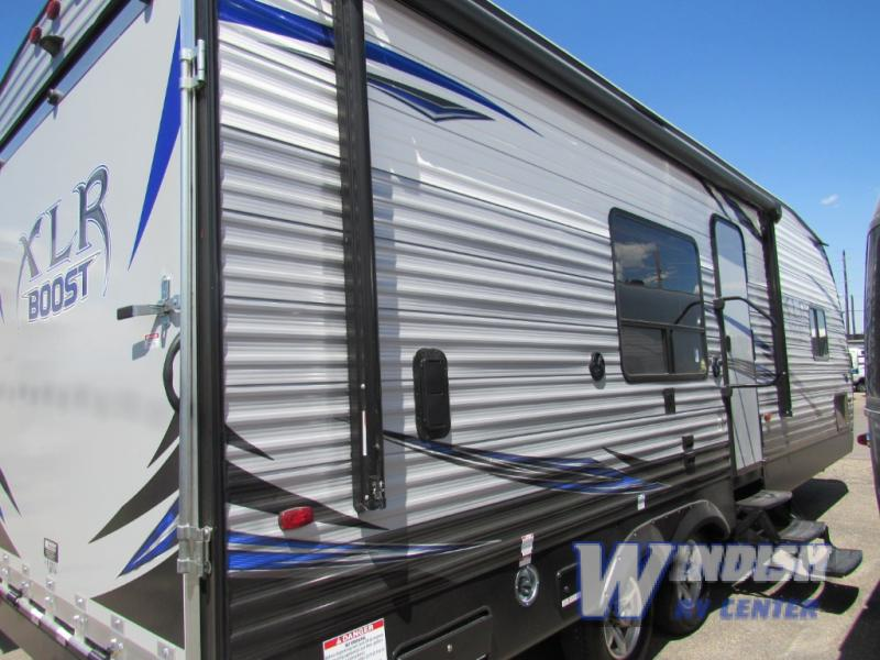 Forest River XLR Boost And Hyper-Lite Toy Hauler Travel Trailers