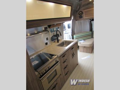 Airstream Tommy Bahama Travel Trailer Kitchen