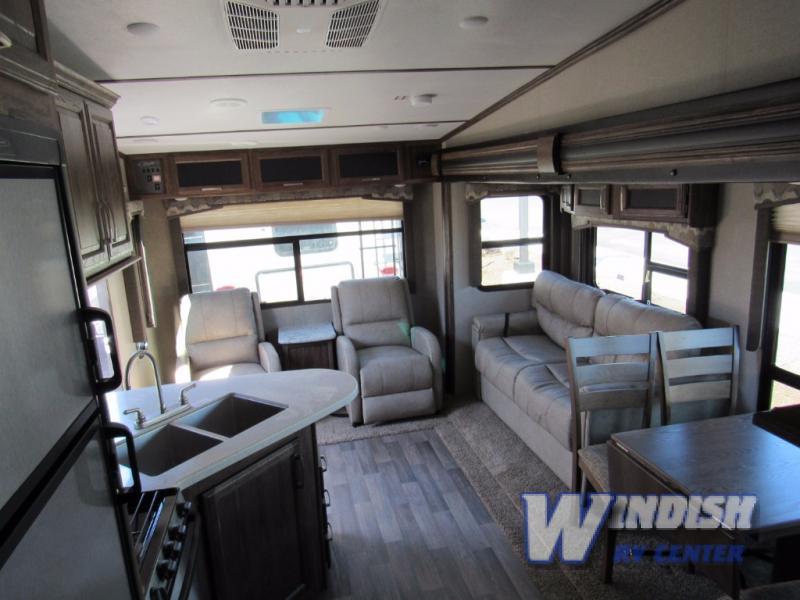 Keystone Cougar XLite Fifth Wheel Rear Living