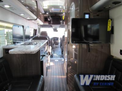 Airstream Interstate Lounge Class B Motorhome Living Area