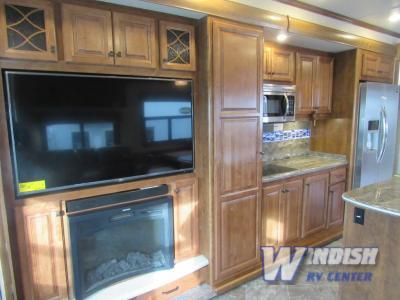 Heartland Landmark Fifth Wheel Kitchen
