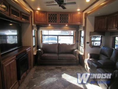 Heartland Landmark Fifth Wheel Living Area