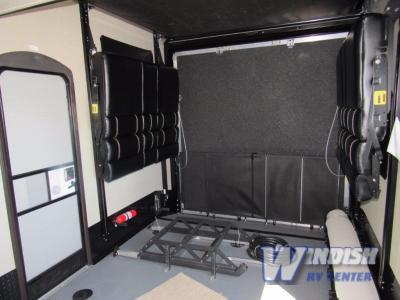 Keystone Carbon Fifth Wheel Toy Hauler Garage