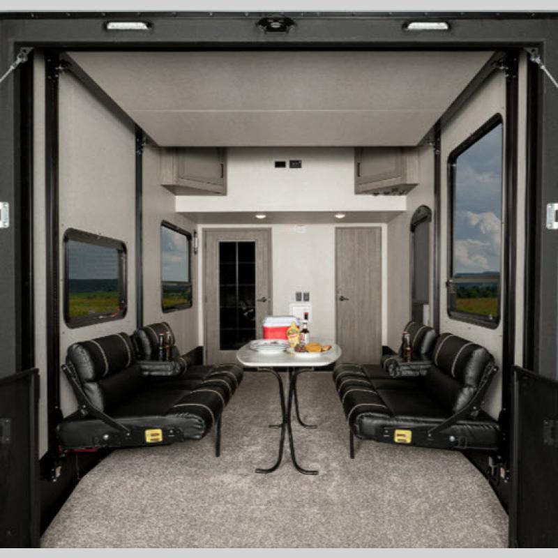 Keystone RV Carbon Fifth Wheel Toy Hauler Garage