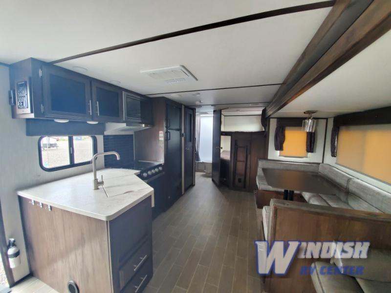 Cherokee Alpha Wolf Travel Trailer Interior Used