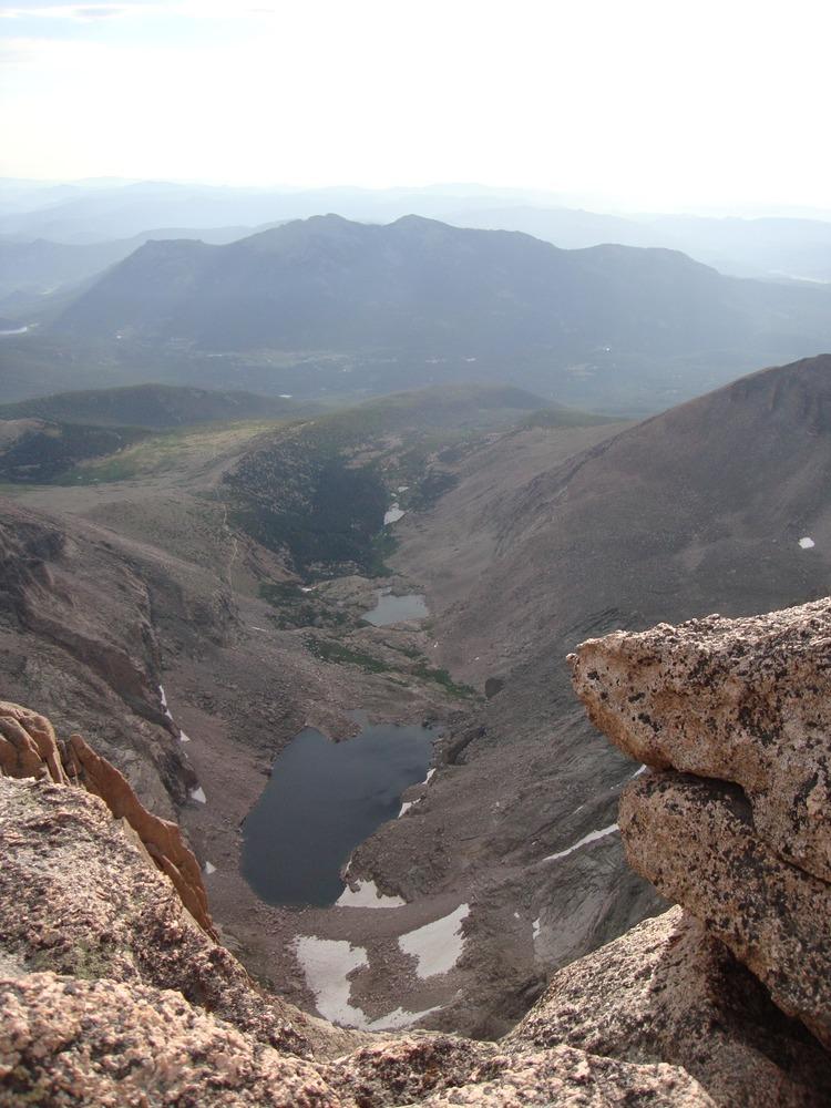Rocky Mountain NP chasm lake