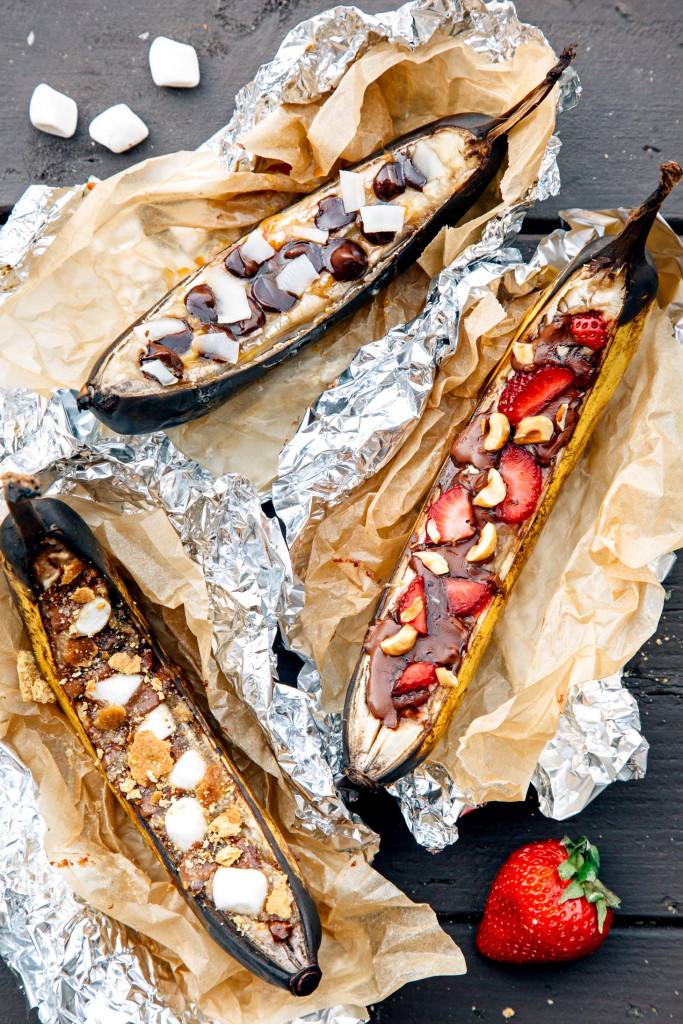 Banana Boats from Fresh Off the Grid