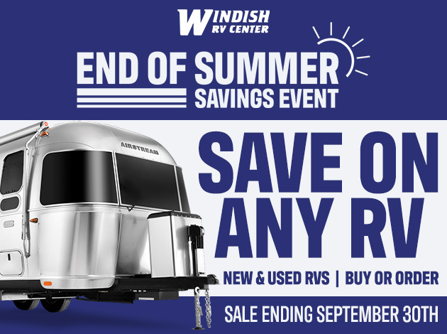 RV Sale: End of Summer Savings Event